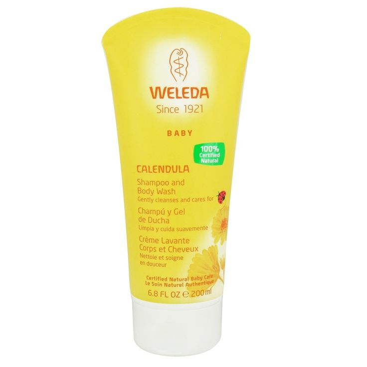 Weleda Baby Calendula Shampoo & Body Wash (6.8 floz)