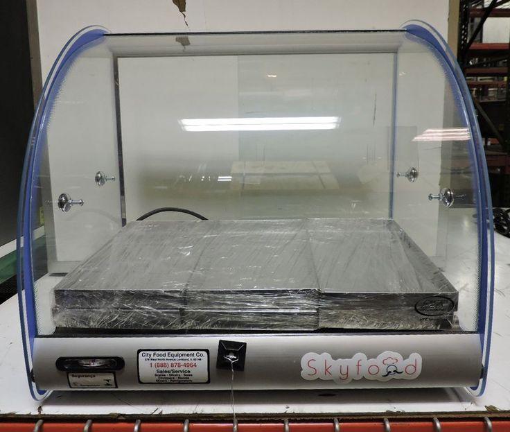 "Skyfood FWD2-18B Commercial 18"" Food Warmer Display Case #Skyfood"