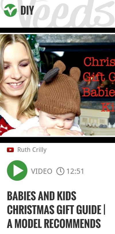 Baby Blog: Beauty Blog: Thank you for watching - more Christmas Gift Guide videos to follow! If you want to see written ones on the blog, click here: Presents Shown: Gap Reindeer Hat: Lamaze Spiral:..   http://veeds.com/i/E_IP-pLjYtS7vkVv/diy/