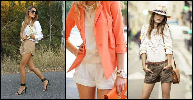 Be brave enough to wear shorts everyday!:))) URBAN SAFARI TREND at www.e-taranko.com