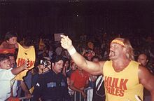 Terry Gene Bollea[5] (born August 11, 1953),[1] better known by his ring name Hulk Hogan, is an American professional wrestler, actor, television personality, and musician signed to Total Nonstop Action Wrestling (TNA).[6]