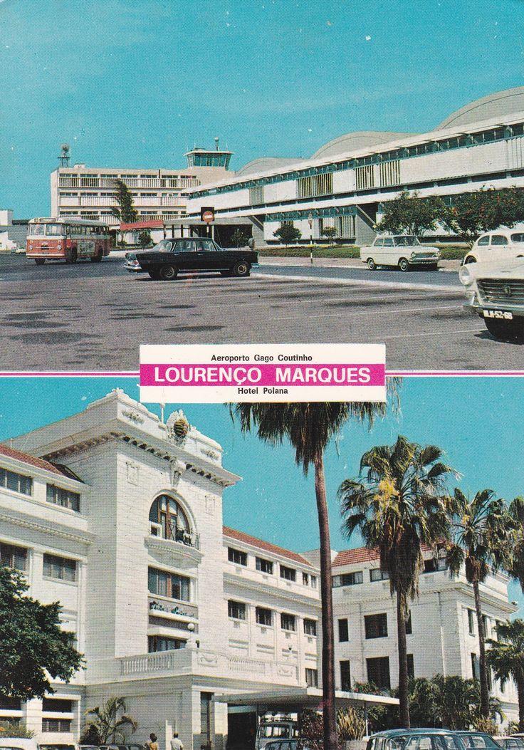 Moçambique - Lourenço Mares: Aeroporto Gago Coutinho e Hotel Polana