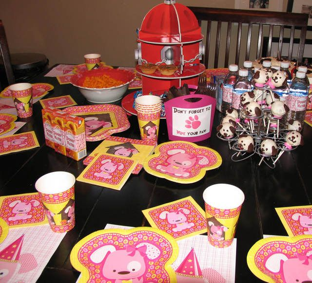 Girl Puppy Party Theme | #PuppyParty
