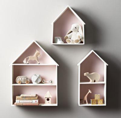 Petite House Shelving | Wall Storage | Restoration Hardware Baby & Child