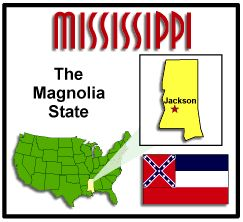 State facts about Mississippi
