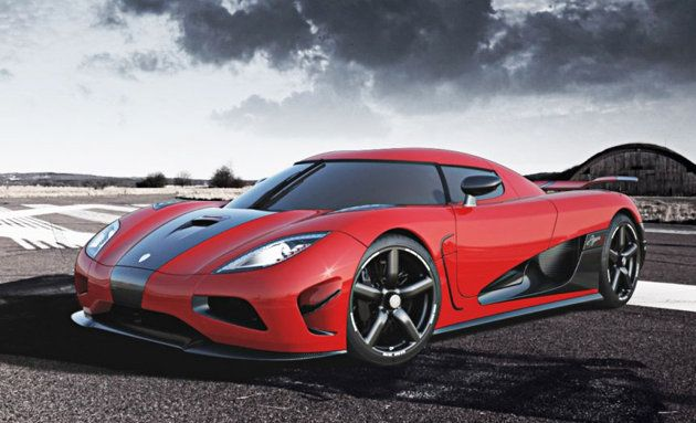 The Koenigsegg Agera R has been clocked at 260 mph and does 0-60 in 2.9 seconds...the 2013 model has a top speed of 273 mph.