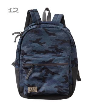 Gap Kids Boys Camo Back to School Backpack (click image to buy) #backtoschool #backpack