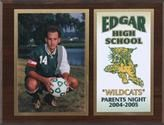 PARENTS NIGHT PLAQUES We can't forget the importance of showing gratitude to the parents in our lives! Say thank you with this great gift for mom's and dad's alike! This 6x8 plaque contains a 3.5x5 photo supplied by you and an I.D. plate designed by us with the information you desire on it. http://www.sportplaques.com/parents-night---mvp-plaques.html