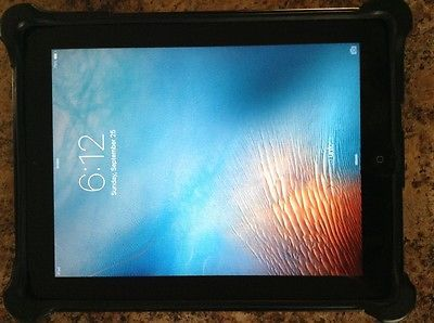 Apple iPad2 16GB Black WiFi Only 2nd Gen MC769LL/A A1395 Tablet Computer