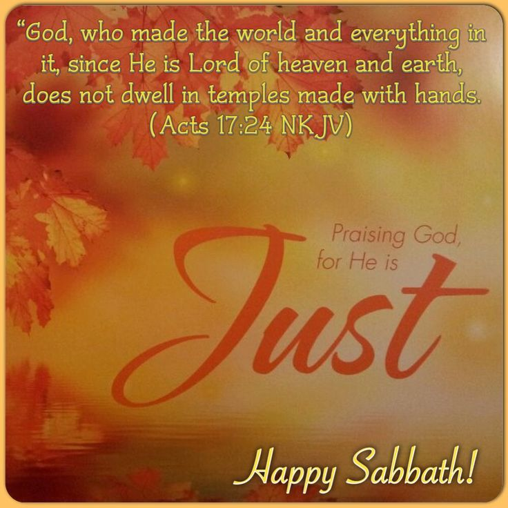 "adventista http://www.singleseventhdayadventists.com/ ""God, who made the world and everything in it, since He is Lord of heaven and earth, does not dwell in temples made with hands. (Acts 17:24 NKJV)  ""Happy Sabbath!"""