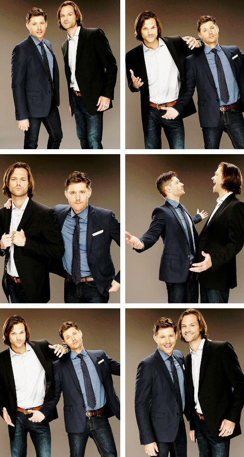 Supernatural – Jared Padalecki – Sam Winchester – Jensen Ackles – Dean Winchester I love these two guys!