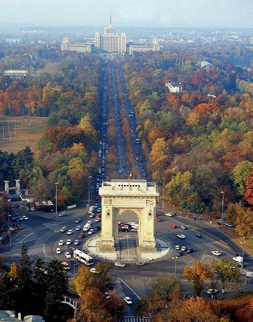 Arcul de Triumf - Bucharest, Romania