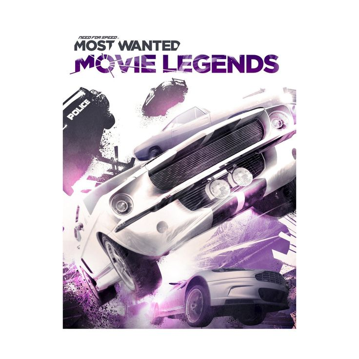 Need For Speed Most Wanted: Movie Legends Electronic Software Download PC