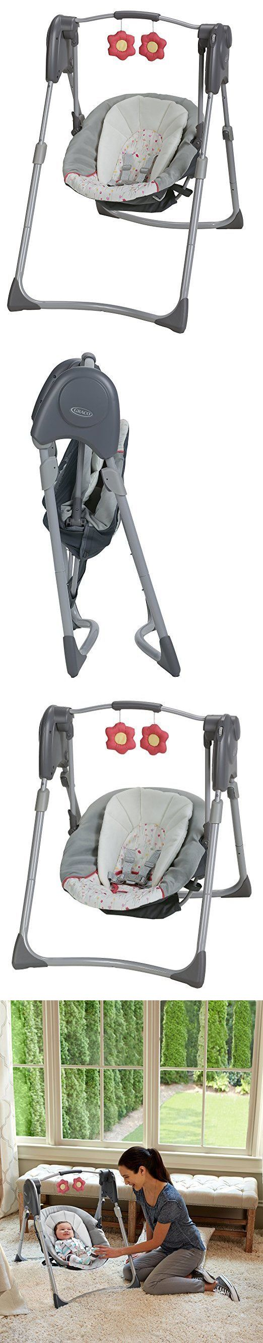 Baby Swings 2990: Graco Slim Spaces Compact Baby Swing Alma -> BUY IT NOW ONLY: $69.9 on eBay!