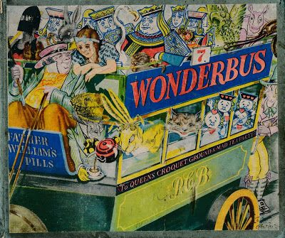 """Pictures from an Old Book: """"Wonderbus 7 - Perry Colour Books"""" Illustrated By ..."""
