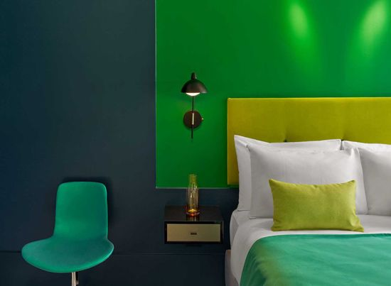 TheDesignerPad - TheDesignerPad - A HOTEL WITH A COLORSTORY