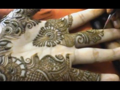how to make traditional simple mehndi..........2016