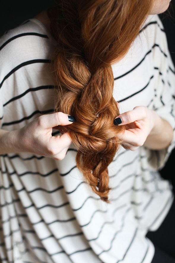How to create a simple braid for spring