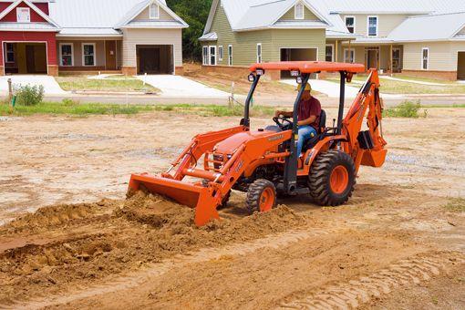 Loader/Landscaper Tractors   B26   Kubota Tractor Corporation