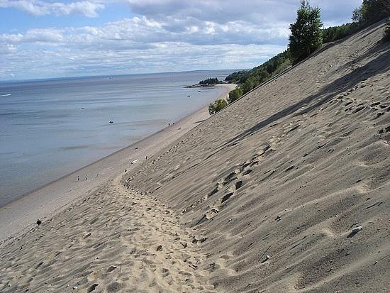 Les dunes...Tadoussac, Quebec