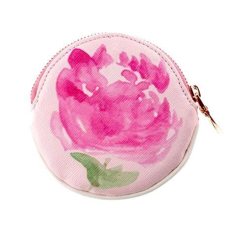 Peony coin purse by NUNUCO® #coinpurse #nunucodesign