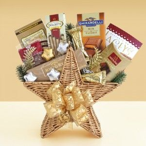 Shining Star Chocolate Gift Basket. Sender will receive NakedWines $50 gift card with purchase.
