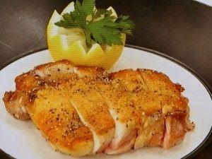 Crispy skin juicy chicken leg . . . . . 鶏もも肉の皮パリソテー    2017年7月3日 [NHKあさイチ]
