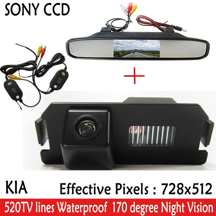 "51.78$  Watch now - http://ali4e9.shopchina.info/go.php?t=32610250157 - ""4.3""""TFT LCD Car Rear View Mirror Monitor Parking Monitor + Car SONY Camera for Hyundai Genesis I30 ROHENS COUPE Tiburon Kia Soul"" 51.78$ #magazineonlinewebsite"