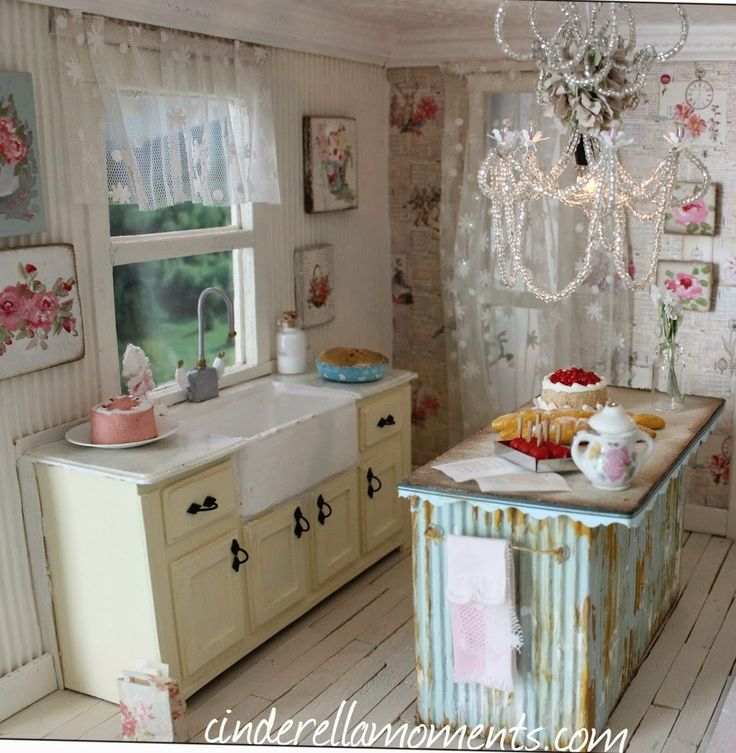 les 29 meilleures images du tableau fleurdelysdoll boutique sur pinterest cuisine miniature. Black Bedroom Furniture Sets. Home Design Ideas