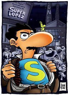 Letras Torcidas: El superman español: Superlópez