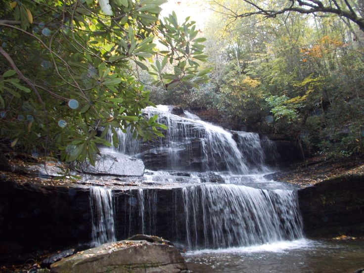 North Carolina Waterfalls Tour Near Brevard Travel