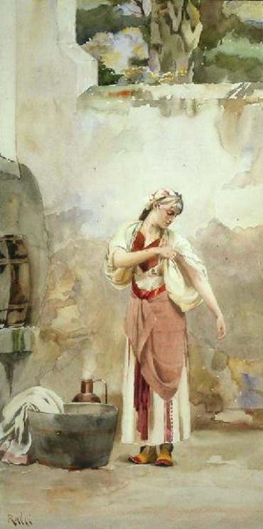 Ράλλης Θεόδωρος-Ελληνική ομορφιά, 1890