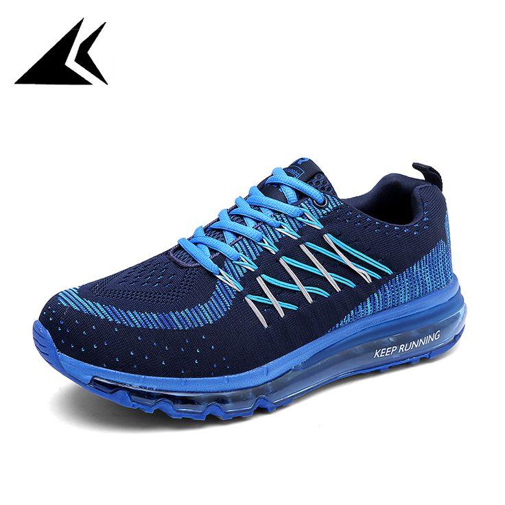New 2017 Air Mesh Breathable Flyknit Superstar Sneakers Men Balance Erkek Ayakkabi Cushion Sport Shoe Men Zapatos Hombre Running #Affiliate