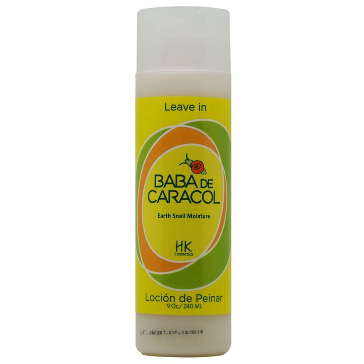 Baba De Caracol Earth Snail Moisture Leave In Conditioner 9 Oz / 240 ml | Health & Beauty, Hair Care & Styling, Shampoos & Conditioners | eBay!