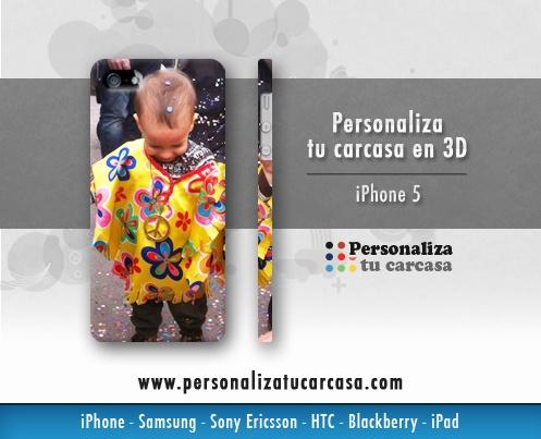 www.personalizatucarcasa.com Personaliza tu carcasa en 3D para tu iPhone 5 en unos sencillos pasos. También disponible para iPad, Blackberry, HTC, Samsung y Sony.  #CarcasasUsuariosPTC   #CarcasasPTC