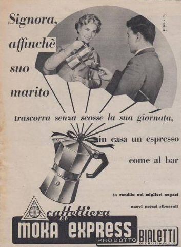 Cooking Classes in Venice love Bialetti Moka Express. This natty stove-top…