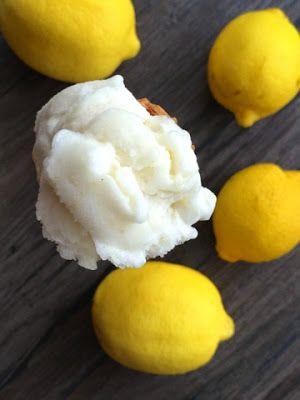 Ewa Kuchennie: Kuchnia to serce domu!: Sorbet mocno cytrynowy