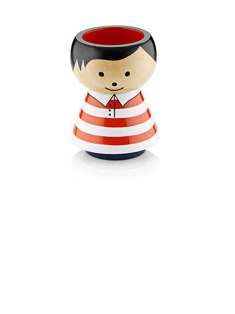 Lucie Kaas Boy Red Stripes Stiftehalter