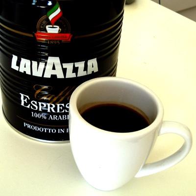 Lavazza! Good coffee!