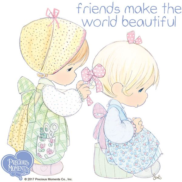 Every now and then, take a moment and look. How have your friends made your life more beautiful? Tell them today.  #PreciousMoments #LifesPreciousMoments #Friends