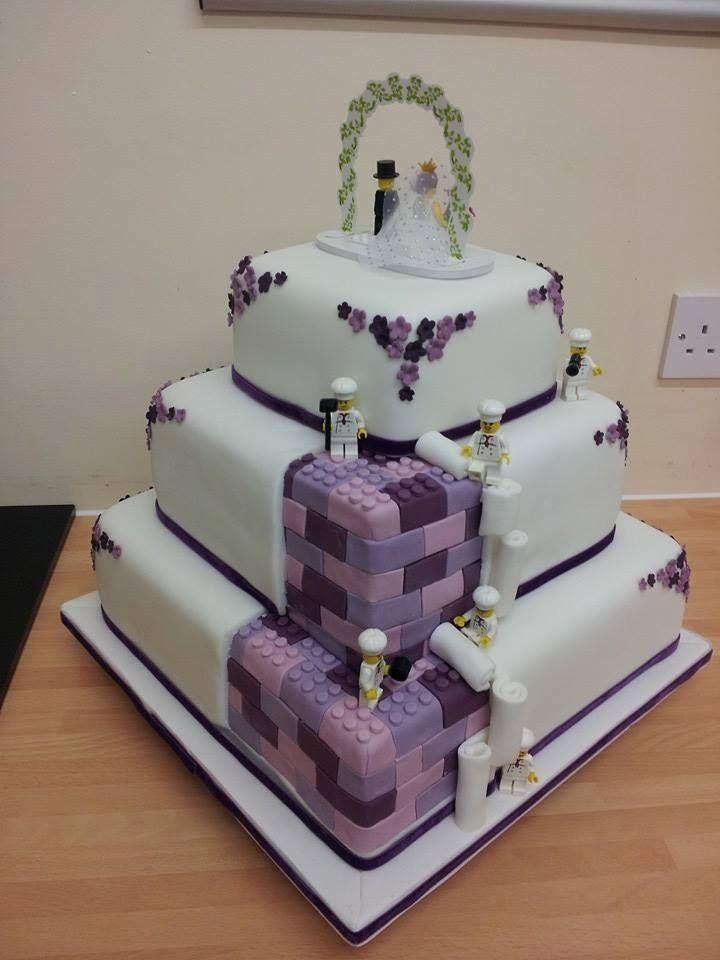 Lego Wedding Cake This Is Awesome Wedding Pinterest