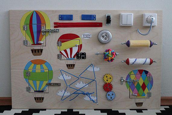 Busy Board Balloons Activity Board Sensory