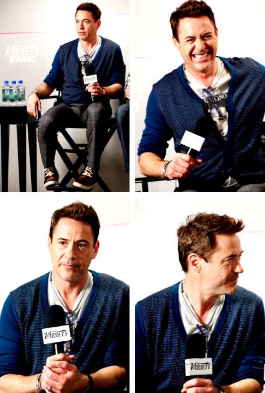 Robert Downey Jr. at Variety Studio at Holt Renfrew - Day 2 - Sept 5, 2014 - Toronto International Film Festival.