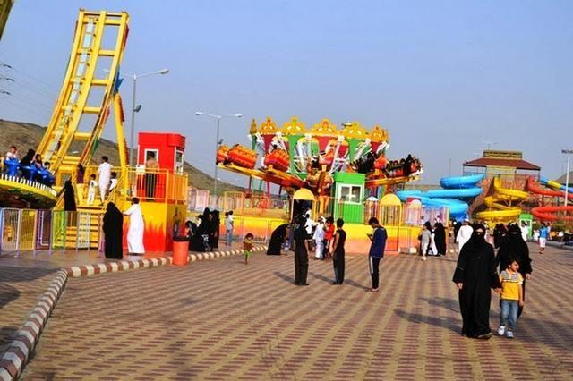 منتزه الشلال في الطائف Taif Landmarks Travel