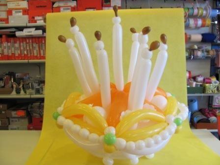 Torta di palloncini