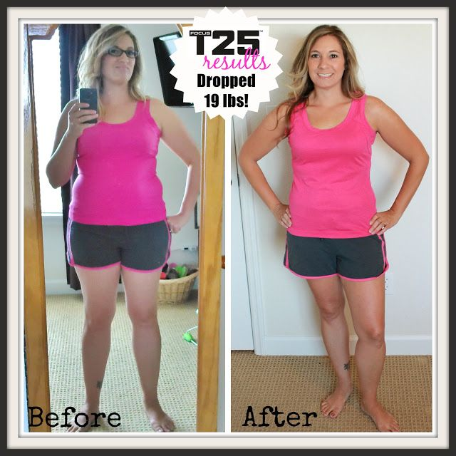 Insanity Workout T25: Focus T25 Results. Lost 19 Pounds! Before And After Photos