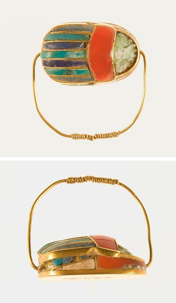 Ring of Sithathoryunet, Period: Middle Kingdom, Dynasty: Dynasty 12, Reign: reign of Senwosret II–Amenemhat III, Date: ca. 1887–1813 B.C.
