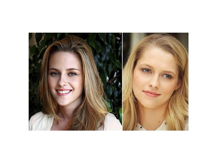 Kristen Stewart + Teresa Palmer | Separated at Birth ... Stephen Colbert