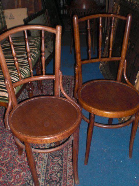 2 db Thonet szék