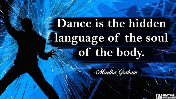 Short Inspirational Dance Quotes Images by Famous Dancer